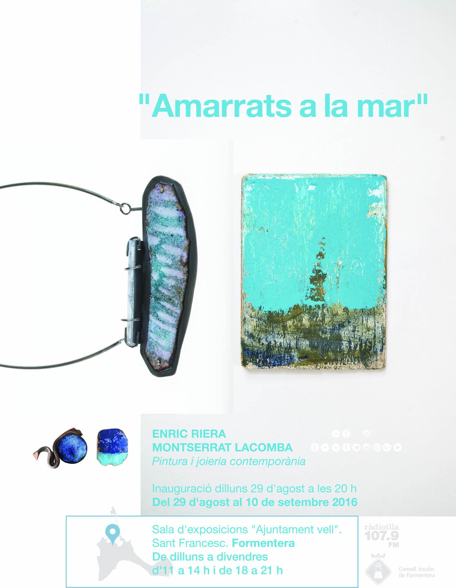 """""""Amarrats a la mar"""" Montserrat Lacomba 2016"""